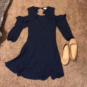 Maison Jules Navy Dress